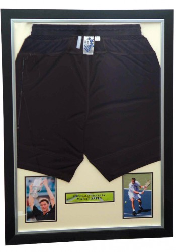 Adidas Shorts signed by Marat Safin - No Minimum Bid