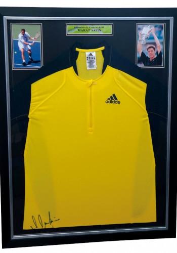 Adidas Shirt Signed by Marat Safin - No Minimum Bid