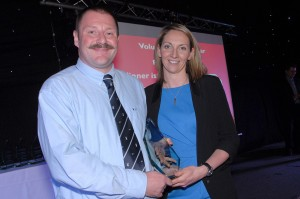 Volunteer of the Year – Bob Truswell (Rugby) Sponsored by Pinders Opticians