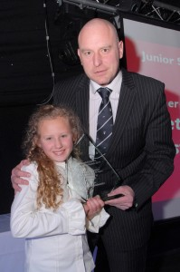 Junior Sportsperson of the Year Under 15 – Lisette Westwater (Martial Arts) Sponsored by Hall-Fast
