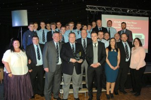 Club of the year – Mansfield Rugby Union Football Club