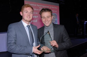Disabled Sportsperson of the Year – Oliver Hynd (swimming) Sponsored by Tyler Bros (Sutton in Ashfield) Ltd