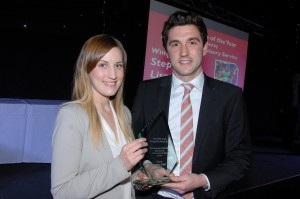 Sportsperson of the year – Stephen Lisgo (Athletics) Sponsored by Schools Advisory Service