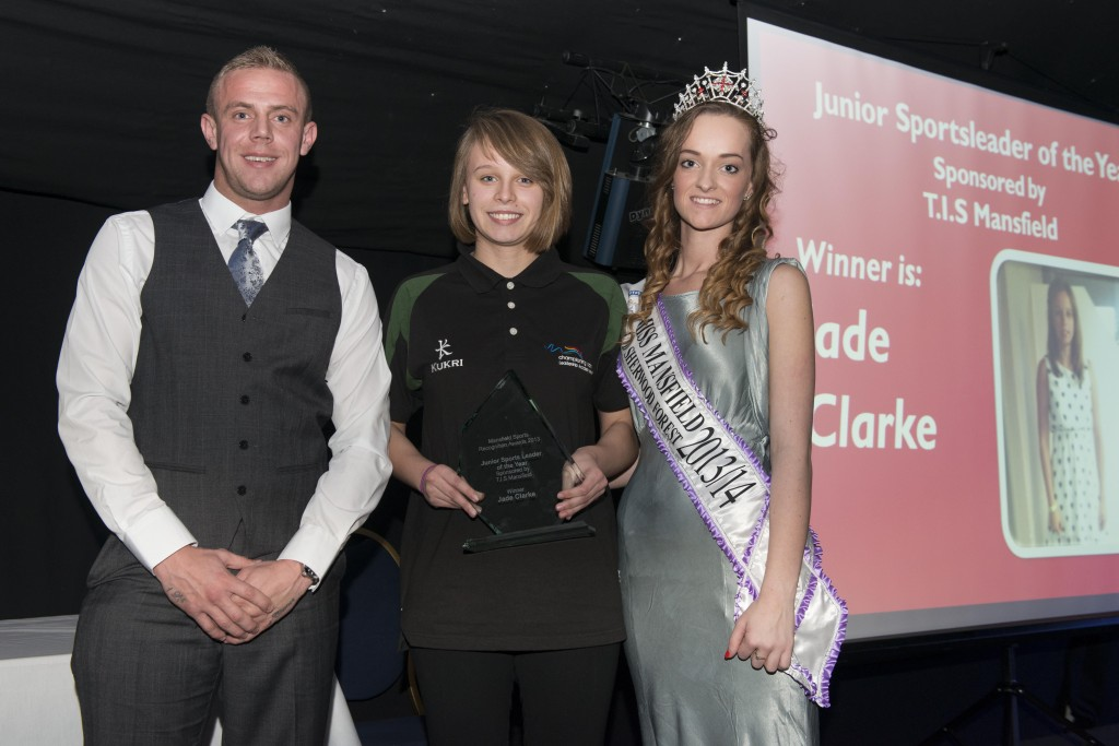 Junior Sportsleader of the Year - Jade Clarke